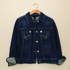 🧥Lane Bryant Jean Jacket size 16